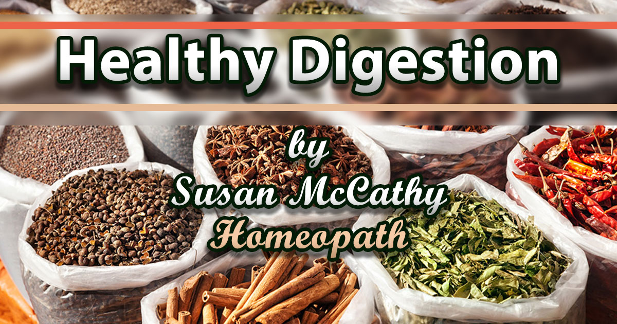 Homeopathy and Digestion