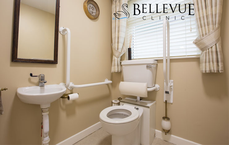 Disabled toilets at Bellevue Clinic, Mallow, Co. Cork
