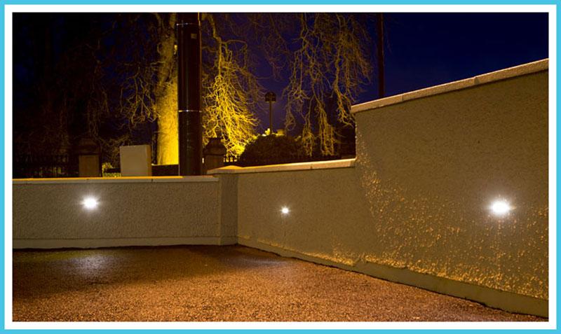 Bellevue Clinic Car Park Lights