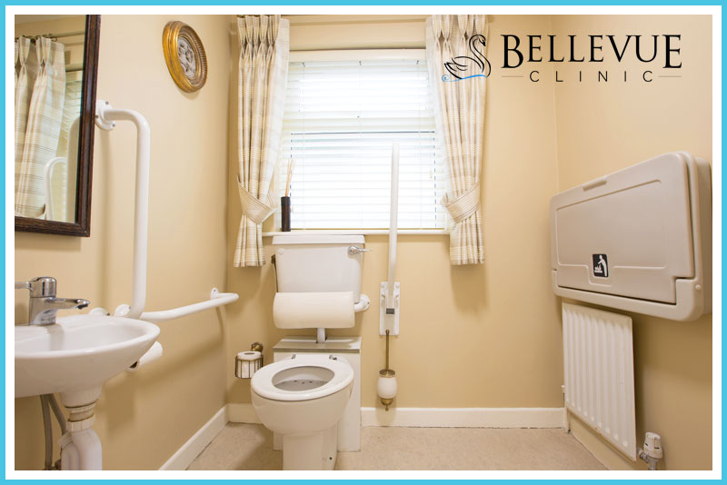 Bellevue Clinic Disabled Toilet Photo