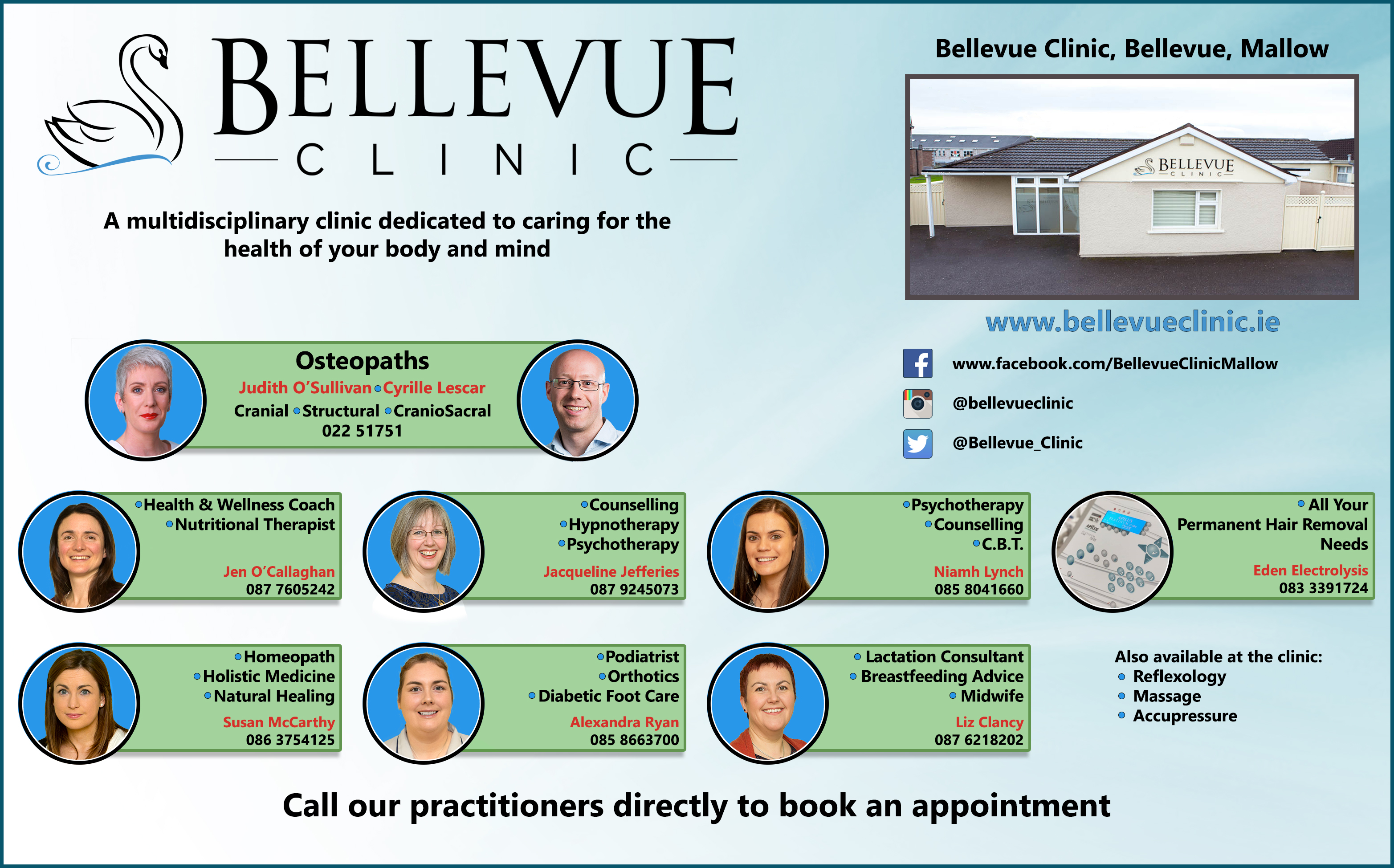 Bellevue Clinic Practitioners 2020